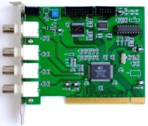 Conexant 878a 4 port pci dvr card