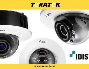 Купольные камеры IDIS для врезки в стены и потолки