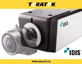 Новая корпусная телекамера IDIS уверенно передаёт цвета в сумерках