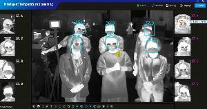 Тепловизионная камера ZN-T2 для измерения температуры тела человека