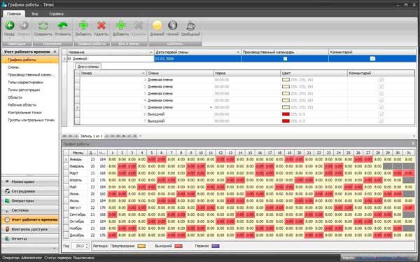 Timex TA Модуль учета рабочего времени